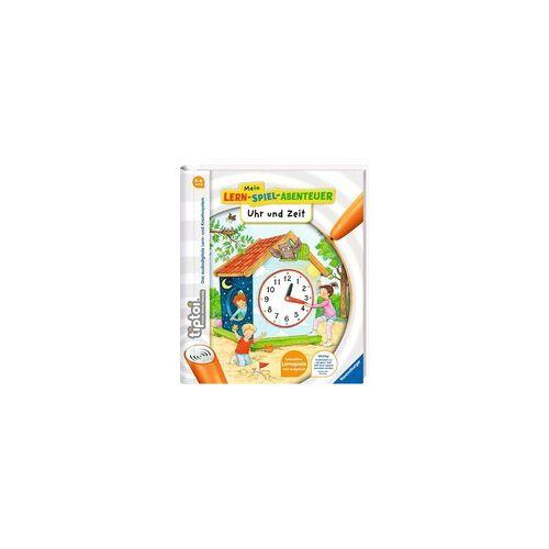 Ravensburger tiptoi Mein Lernspiel-Abenteuer Uhr und Zeit, Lernbuch