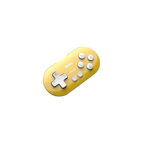 8BitDo Zero 2 Yellow, Gamepad