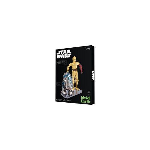 Metal Earth Star Wars Set C-3PO + R2D2 Box Vers., Modellbau