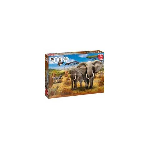 Jumbo Puzzle Afrikanische Savanne