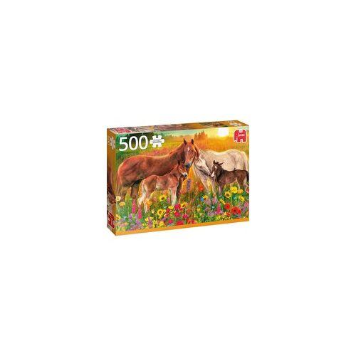 Jumbo Puzzle Pferde auf der Weide