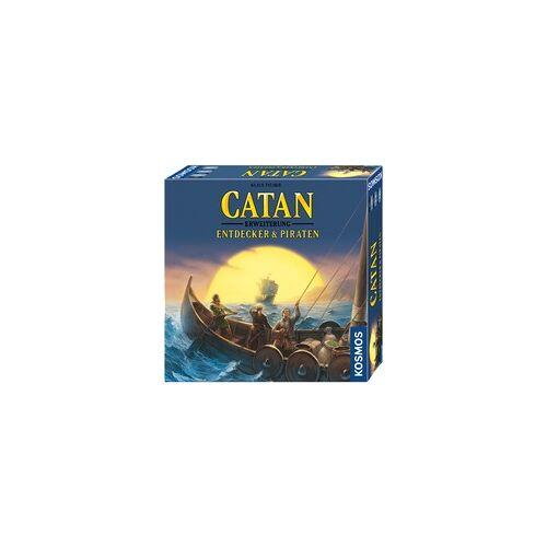 Kosmos CATAN - Entdecker & Piraten, Brettspiel