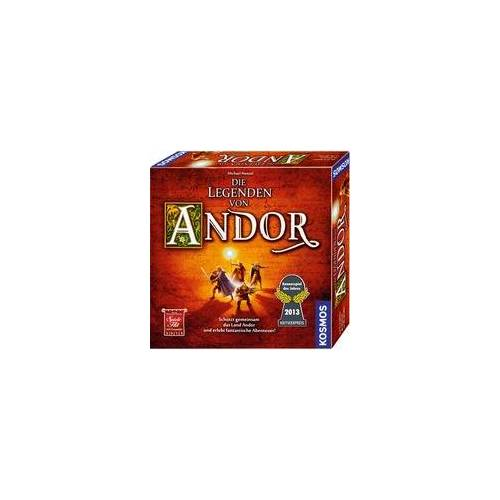 Kosmos Die Legenden von Andor, Brettspiel