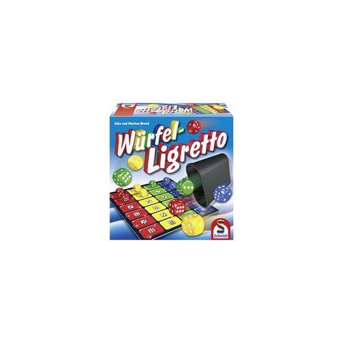 Schmidt Spiele Würfel Ligretto, Würfelspiel