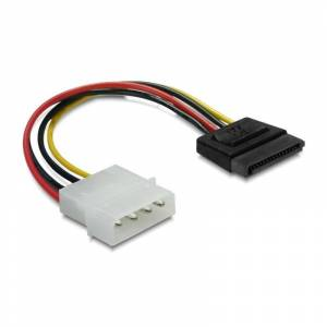 DeLock Power SATA Adapter HDD 4Pin male 6cm