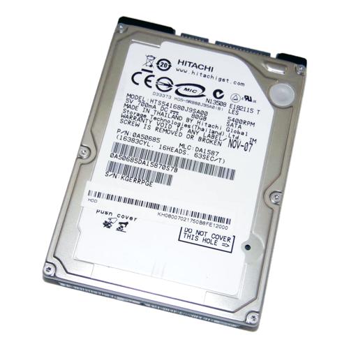 Hitachi 80GB Hitachi 2.5 Zoll 5400RPM SATA Festplatte
