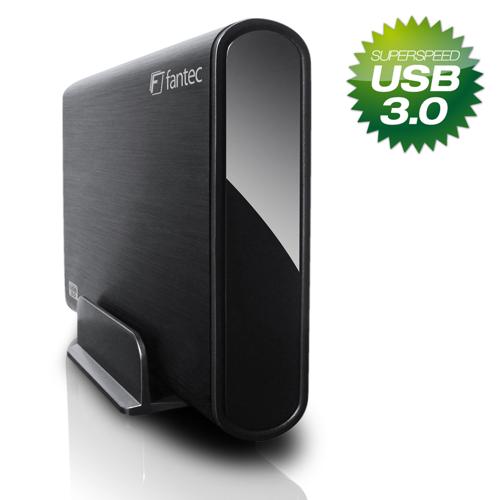 "Fantec DB-ALU3 USB3.0 SATA Alu 3.5"" Festplattengehäuse"