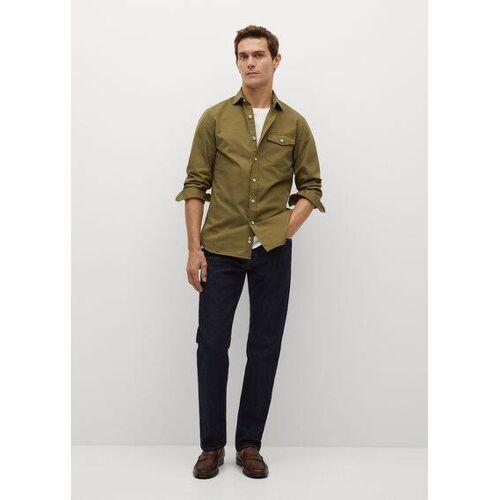 MANGO MAN Slim fit-jeanshemd
