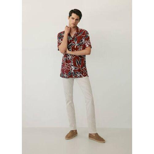 MANGO MAN Luftiges hawaii-hemd