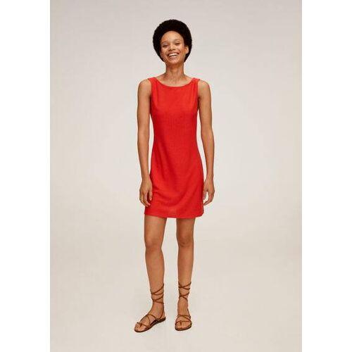MANGO Kleid mit rückwärtiger schleife