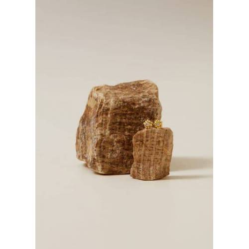 MANGO KIDS Kristallblumen-Ohrringe Gold