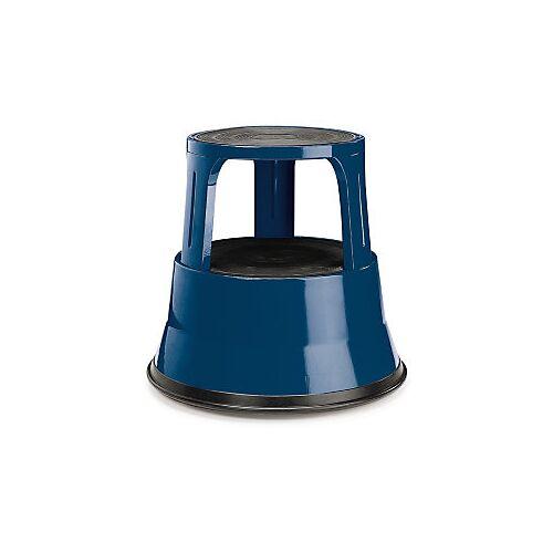Rollhocker blau