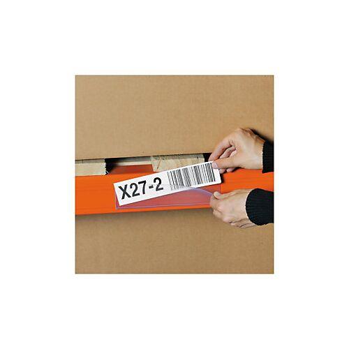 Selbstklebende Etikettenhalter, 80 x 200 mm