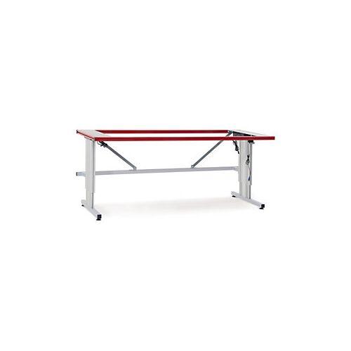 Tischgestell E mit Elektrohöhenverstellung 2000 x 800 x 690-1090 mm
