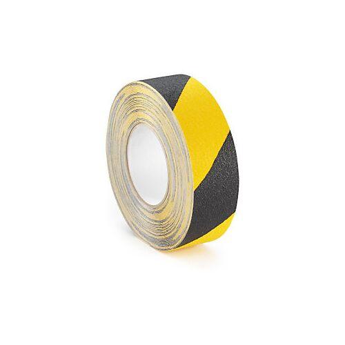 Antirutsch-Klebeband RAJA schwarz/gelb