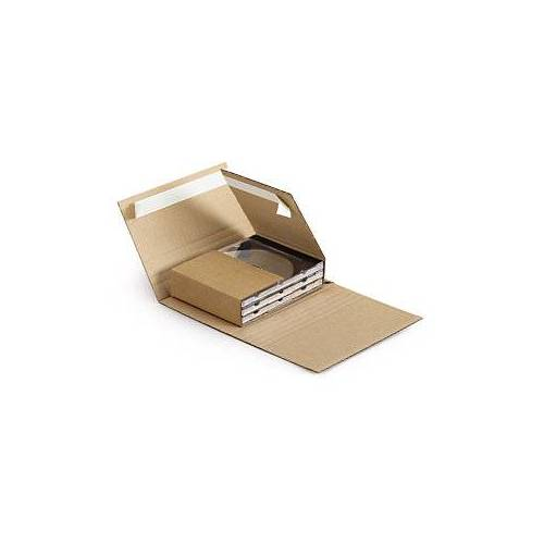 CD-Verpackung 140 x 125 x 10/41 mm