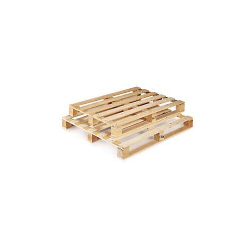 Einwegpaletten leicht aus Holz 1200 x 1000 x 123 mm