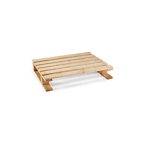 Einwegpaletten leicht aus Holz 800 x 600 x 140 mm