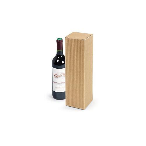 Flaschenverpackung Natur 1 Flasche