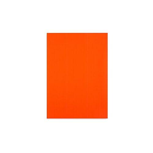 Fluoreszierende Papier-Etiketten 70 x 37 mm rot