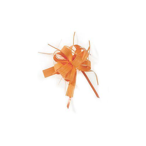 Geschenkband-Schleifen, matt orange
