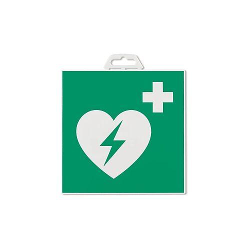 Hinweischild ''Defibrillator''