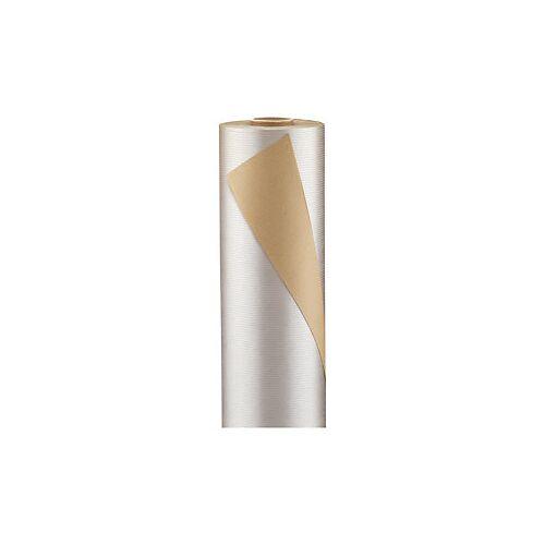 Kraftpapier silber 70 cm x 100 m