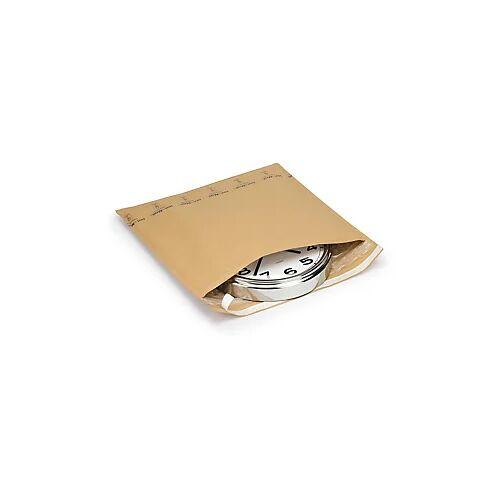 Kraftpapier-Versandtaschen mit großnoppiger Luftpolsterfolie 270 x 350 mm