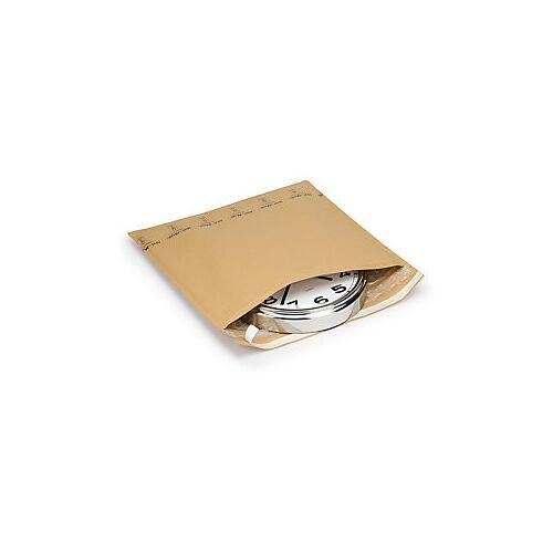Kraftpapier-Versandtaschen mit großnoppiger Luftpolsterfolie 350 x 430 mm