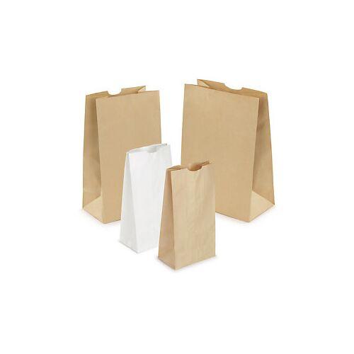 Kraftpapierbeutel mit Blockboden