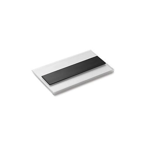 Magnetische Etikettenhalter, 80 x 200 mm