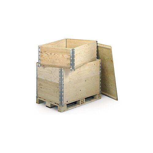Palettenaufsatzrahmen Holz 1200 x 800 x 195 mm