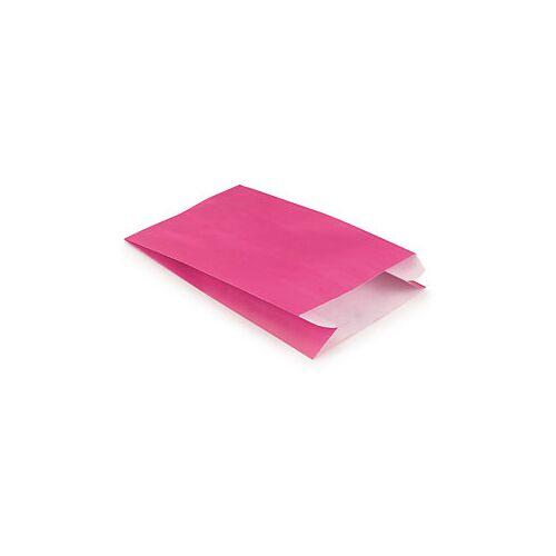 Papierbeutel 240 x 390 mm pink