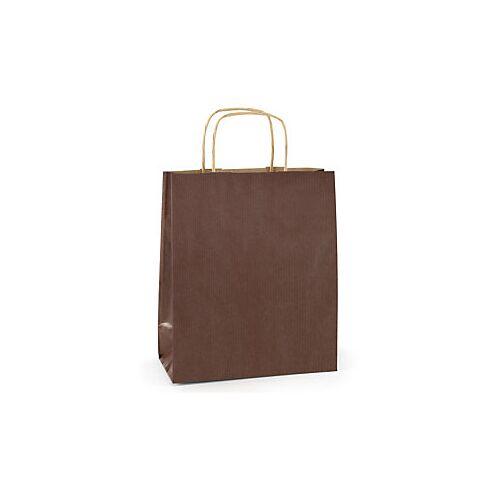 Papiertasche schokolade 250 x 320 x 90 mm