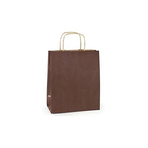 Papiertasche schokolade 350 x 350 x 160 mm
