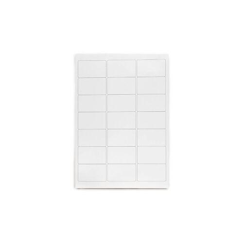 Polyester-Präsentations-Etiketten weiß