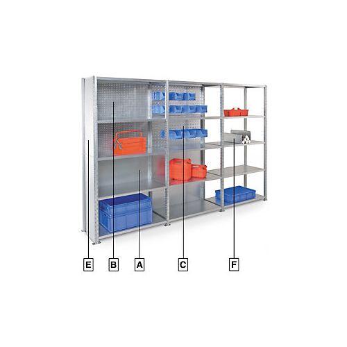 Regal-Bausteine für modulares Regal AD'VANCE