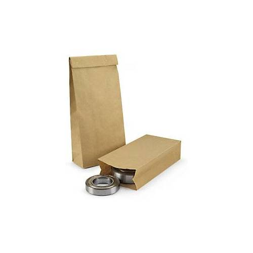 Braun Stabile Papierbeutel ohne HKV braun 220 x 100 x 430 mm - 90g/m²