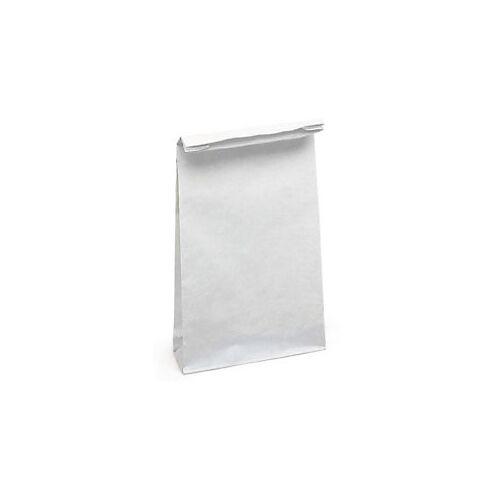 Stabile Papierbeutel ohne HKV weiß 24 x 52 x 11 cm - Stärke 100 g/m²