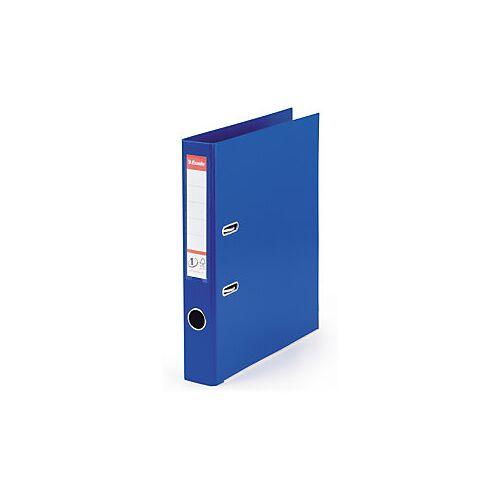 Standard-Ordner Esselte blau, Rückenbreite 5 cm