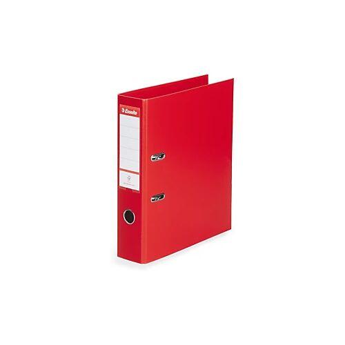Standard-Ordner Esselte rot, Rückenbreite 7,5 cm