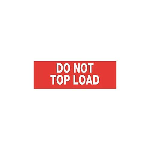 Versandetiketten do not top load 55 x 165 mm