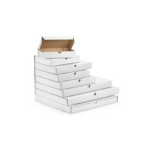 Versandkarton Flach-Pack DIN A5, weiß