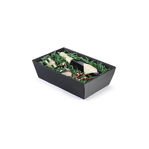 Wellpapp-Geschenkkörbe schwarz 260x 210 x 100 mm