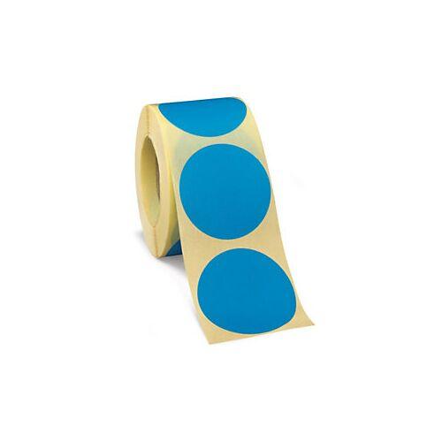 Wiederverwendbare Punkte Blau D 50 mm