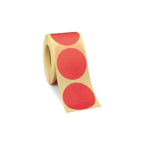 Wiederverwendbare Punkte Rot D 50 mm