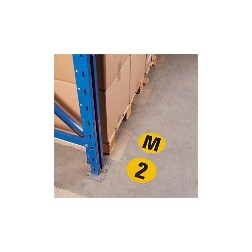 Zahlen zur Bodenmarkierung ''0''