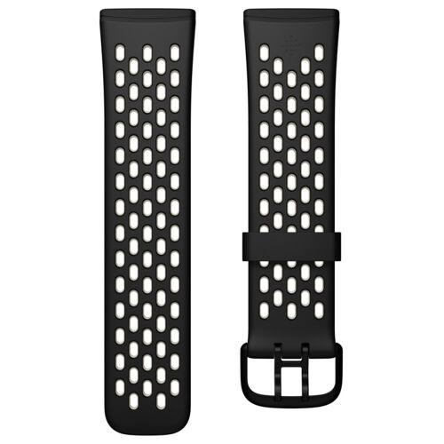 Fitbit Versa 3/Sense Sport Band Black/White L
