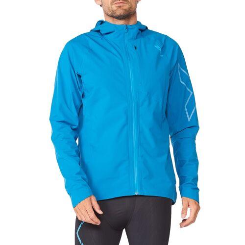 2XU Men's Light Speed Wp Jacket Aquamarineaquamarine L