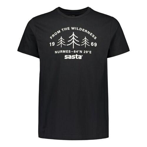 Sasta Men's Wilderness T-shirt Black S
